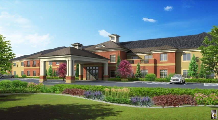 Legacy House of Provo - Exterior Rendering